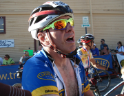 My first Leadville 100 finish in 2010. Eleven hours and forty two minutes of pain. My face shows it.