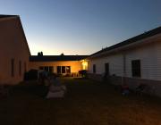 Church Back Yard For the Night